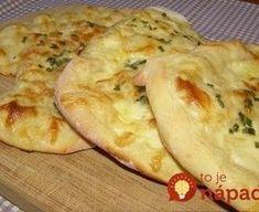 Brze lepinje sa jogurtom i sirom - Mali kuhar Bosnian Recipes, Croatian Recipes, Bosnian Food, Pub Food, Cooking Recipes, Healthy Recipes, Bread And Pastries, Food Staples, Bread Baking