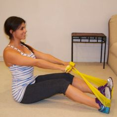 This total-body sculpting workout plan lets you take your resistance training where ever you go. With a resistance band, you can squeeze in a sweat session anywhere, anytime, whether on the road or in the comfort of your own home. Get the workout here. Resistance Workout, Resistance Band Exercises, Workout Circuit, Body Sculpting Workouts, Total Body Toning, Knee Exercises, Workout For Flat Stomach, Easy Workouts, Toning Workouts