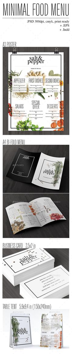 455 best trifold restaurant menu template images in 2018