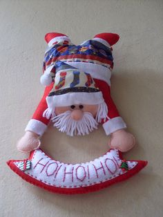 Papai Noel em feltro ;D
