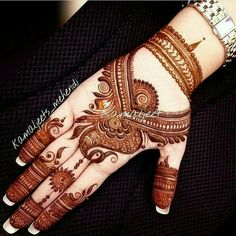 Here are stylish and latest Front Hand Mehndi Designs, Choose the best. Latest Arabic Mehndi Designs, Mehndi Designs Book, Mehndi Design Pictures, Modern Mehndi Designs, Mehndi Designs For Girls, Wedding Mehndi Designs, Dulhan Mehndi Designs, Henna Tattoo Designs, Mehndi Images