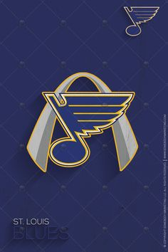 """Somebody Marketing is proud to present our annual National Hockey League's """"30 Teams, 30 Days"""" segment. We will be featuring a minimalistic, yet long shadowed approach to all of the NHL's teams logos. Sometimes we may even modify their existing logo. Don't worry, if you are a fan you will still recognize your team(s) logo. Day 25 features the St. Louis Blues. #NHL #StLouisBlues"""