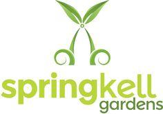 Logo design for Springkell Gardens, #mowing and #gardening business startup.  #marketing #logo #logos #graphics #graphicdesign #illustrator #marketingdesign