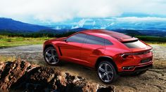 The Lamborghini Urus looks like an Aventador that hit the gym. Named after a Spanish breed of bull, the Urus is a 4-seater 4×4 SUV with a 600+hp engine. Lamborghini plans to launch it in 2015.