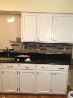 DIY Airstone backsplash I am SO doing this around the fireplace