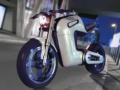 The BOLT concept motorbike is a beautiful combination of the polished and sophisticated features of naked-style sports tourers and the streetfighter stance of supersports. The minimal