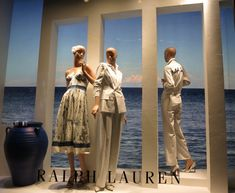"""RALPH LAUREN, Mayfair, London, UK, """"Listen Tess... The ocean is everything I want to be. Beautiful, mysterious, wild and free"""", photo by Jonathan Baker, pinned by Ton van der Veer"""