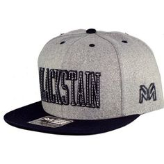 155eaedef3 Boné Young Money Blackstain Moletom Snapback Cinza Marinho