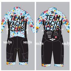 Team Yacht Club cycling kit jersey