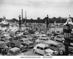 trafic paris | Traffic Jam In Paris France Stock Photo 95413282 : Shutterstock