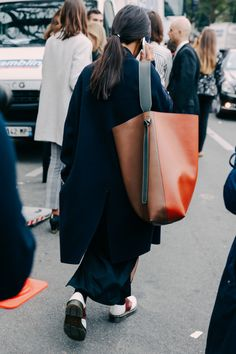 A Fashion Week street style star essential, see the bags that stood out on the streets of New York, London, Milan and Paris.
