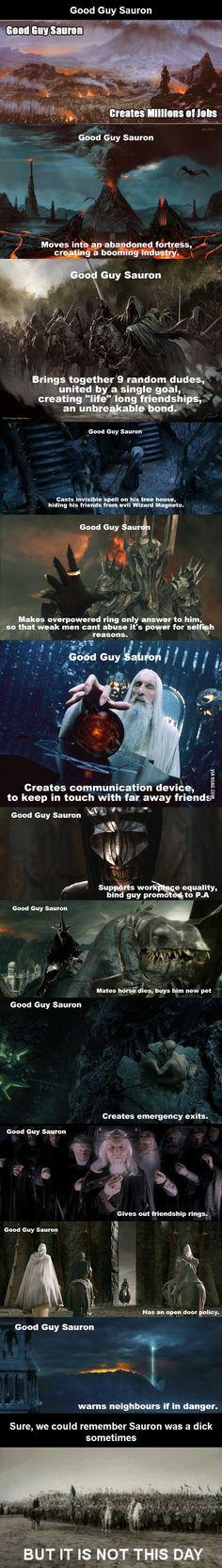 Good guy sauron