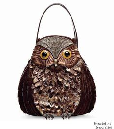 owl purse- Braccialini from the TEMI collection