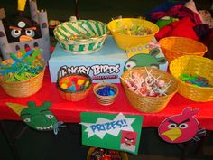 angry bird game prize table