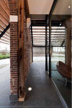Une ferme rénovée dans un style contemporain - PLANETE DECO a homes world