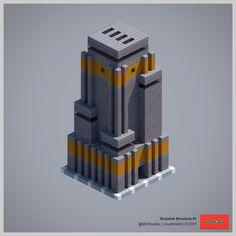 Brutalist Structure #1