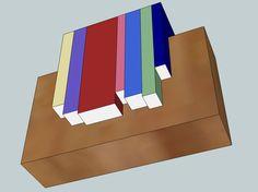Beautiful bookshelf idea