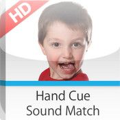 iPod App: Hand Cue Sound Match HCSM. Welcome to the Hand Cue Sound Matching (HCSM) app! The HCSM app is a therapy tool that supports The Speech-EZ® Apraxia Program.This app was created for individuals with childhood apraxia of speech, phonological disorders, Down syndrome, autism, cerebral palsy, and other disorders and syndromes that impair speech production. Pinned by The Sensory Spectrum.