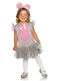 Disfraz De Raton Para Niña Talla 2 Legavenue Super Lindo - $ 320.00