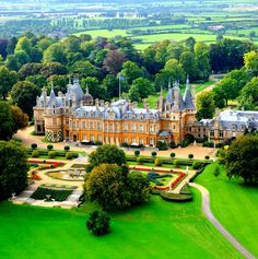 Waddesdon Manor is a country house in the village of Waddesdon, in Buckinghamshire, England.