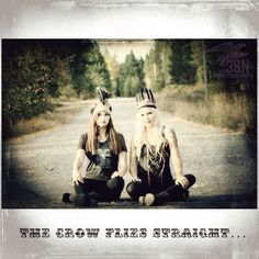 The Crow flies straight... 3 Stars North Feather headpieces and American made clothing. Eagles, guns, tattoos and dirt roads.