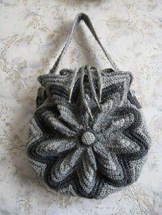 Inspiration~Crochet Bag Idea