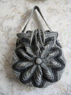 Inspiration~Crochet Bag Idea