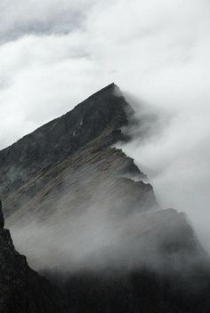 mountains | mist