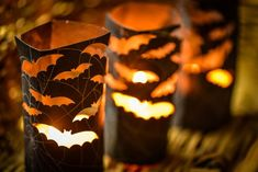 If you are welcoming family, friends, and trick-or-treaters to your home for Halloween, you'll want to highlight your walkway in some fun and eerie ways. Consider carving small pumpkins and illuminating them with battery-operated votive candles before placing them along your front walkway or on your porch steps.