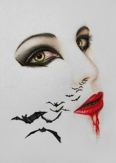Lady Vampire - Suck Your Blood by A-D-I--N-U-G-R-O-H-O.deviantart.com on @DeviantArt