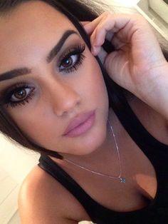 WOW, beautiful!  Those lashes are amazing!   3D Fiber lash mascara!