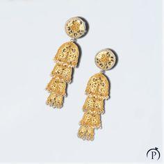 A charm unspoken in her every gesture. Silver Jewellery Indian, Gold Jewellery Design, Silver Jewelry, Fine Jewelry, Silver Bracelets, Silver Earrings, Stud Earrings, Indian Fashion Bloggers, Bracelet Watch