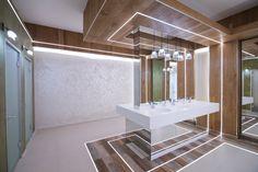Modern Bathroom, Bathrooms, Bathtub, Led, Lighting, Home, Standing Bath, Funky Bathroom, Bathtubs