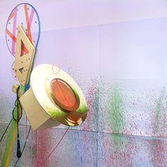 The painting sound Recording Machine at Milan Design Week