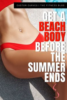"Summer is here ladies–but that's not going to stop us because we have GOALS! You can still get your ""beach body"" in the middle of summer. There are no rules of when you should start to get fit–especially when you don't need a gym to complete this workout! In order to get a ""beach body,"" you need to target all the important body parts–so we did just that!  GET YOUR BEACH BODY WITH THESE 5 EXERCISES!"