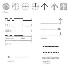 Image result for architectural north arrows