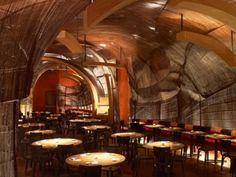 Restaurant Design: Nobu Dubai by the Rockwell Group
