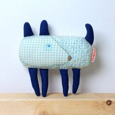 Toy dog. Is a designer hand-embroidered toy, Stuffed animal, Animal Toy, children