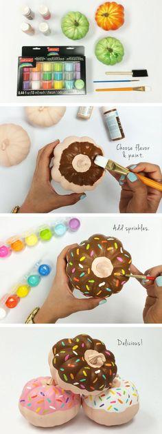 Donut gourds
