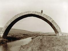 Roman bridge above the Wadi al-Murr near Mosul, Iraq.