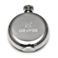 "Izola ""Hair of the Dog"" Flask available at www.petalumasupplyco.com"