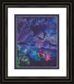 abstract heavens above, by  fractal mandala art