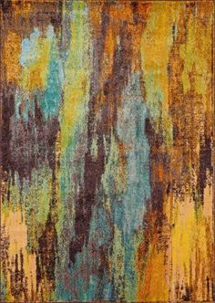 Chroma CB02 Multi Painting Rug