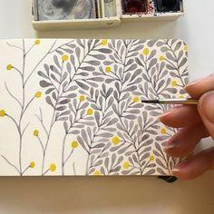 Blumen Wand