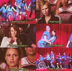 Push It!...#Glee...one of my faves lol