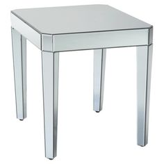 Found it at Wayfair - Parisian End Table in Chrome