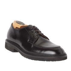 Mocc Toe BlucherBlack Calfskin7117S – Alden Shoes Madison Avenue New York