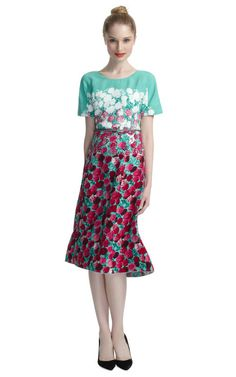 Shop Floral Dress by Marc Jacobs Now Available on Moda Operandi