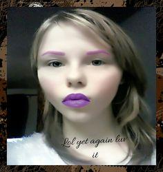 Lol I'm a goth not really