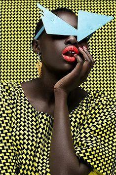 Hot Shots: Thandiwe Muriu Celebrates Black Beauty With An African Flair | FashionGHANA.com: 100% African Fashion
